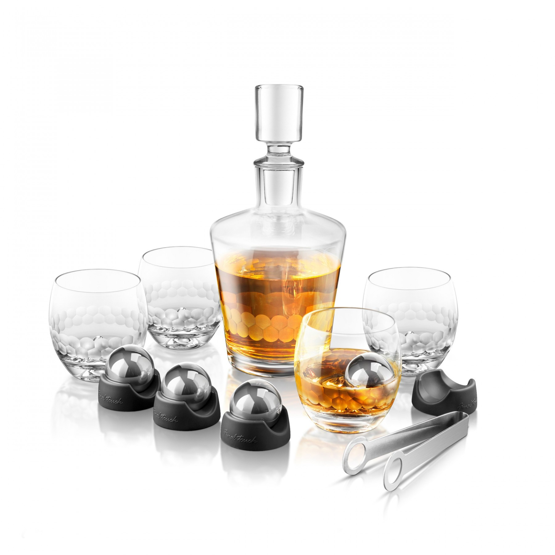 Brilliant decanter set for dining sets ideas with crystal decanter set