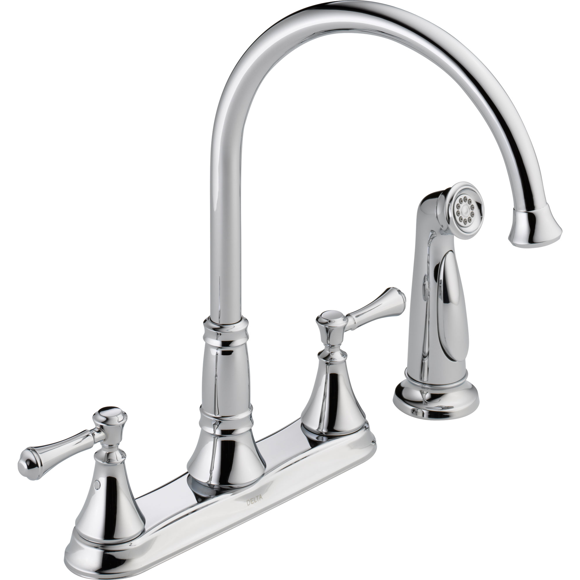 Brilliant delta cassidy kitchen faucet for kitchen faucet ideas with delta single handle kitchen faucet with spray