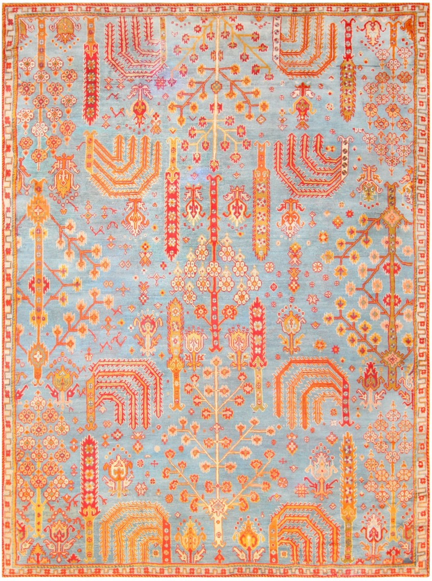 Brilliant Oushak Rugs For Floorings And Rugs Ideas With Antique Oushak Rugs