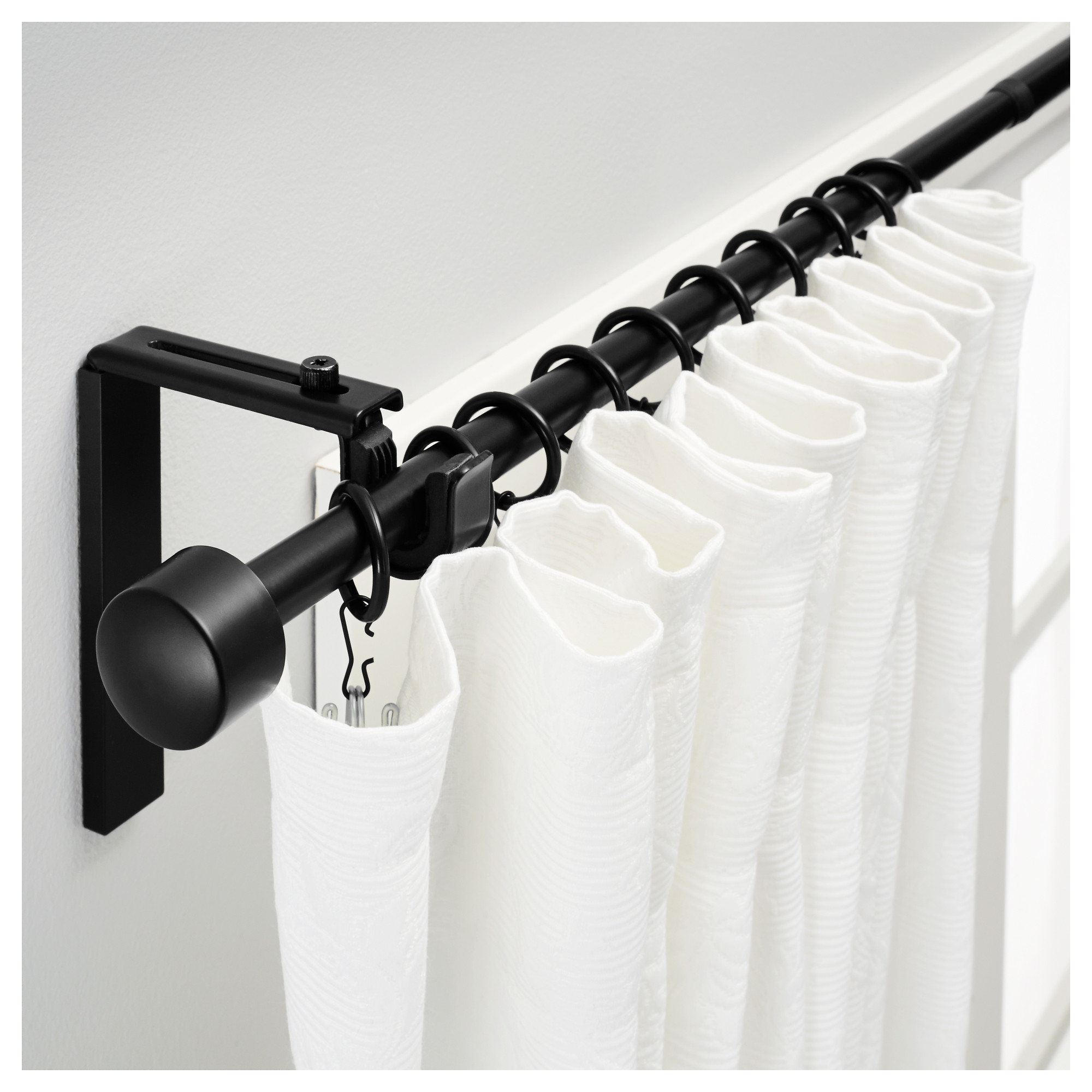 Captivating ikea curtain rods for home decor ideas with ikea double curtain rod and ceiling curtain rods ikea