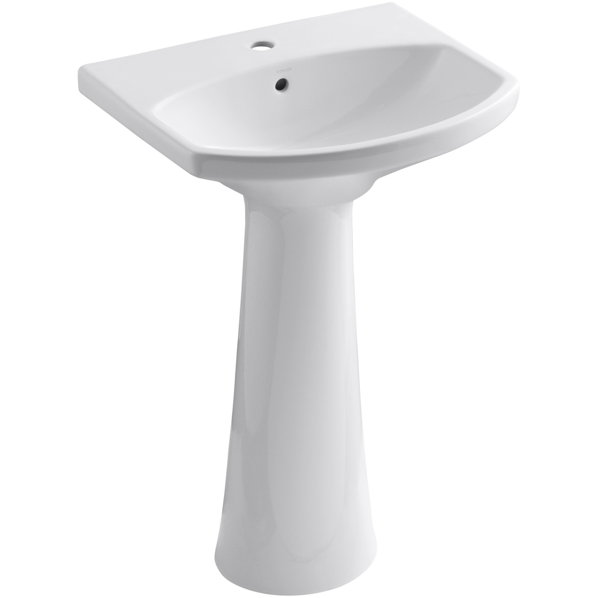 Bathroom Design: Captivating Mirabelle Sinks With Single Faucet Hole ...
