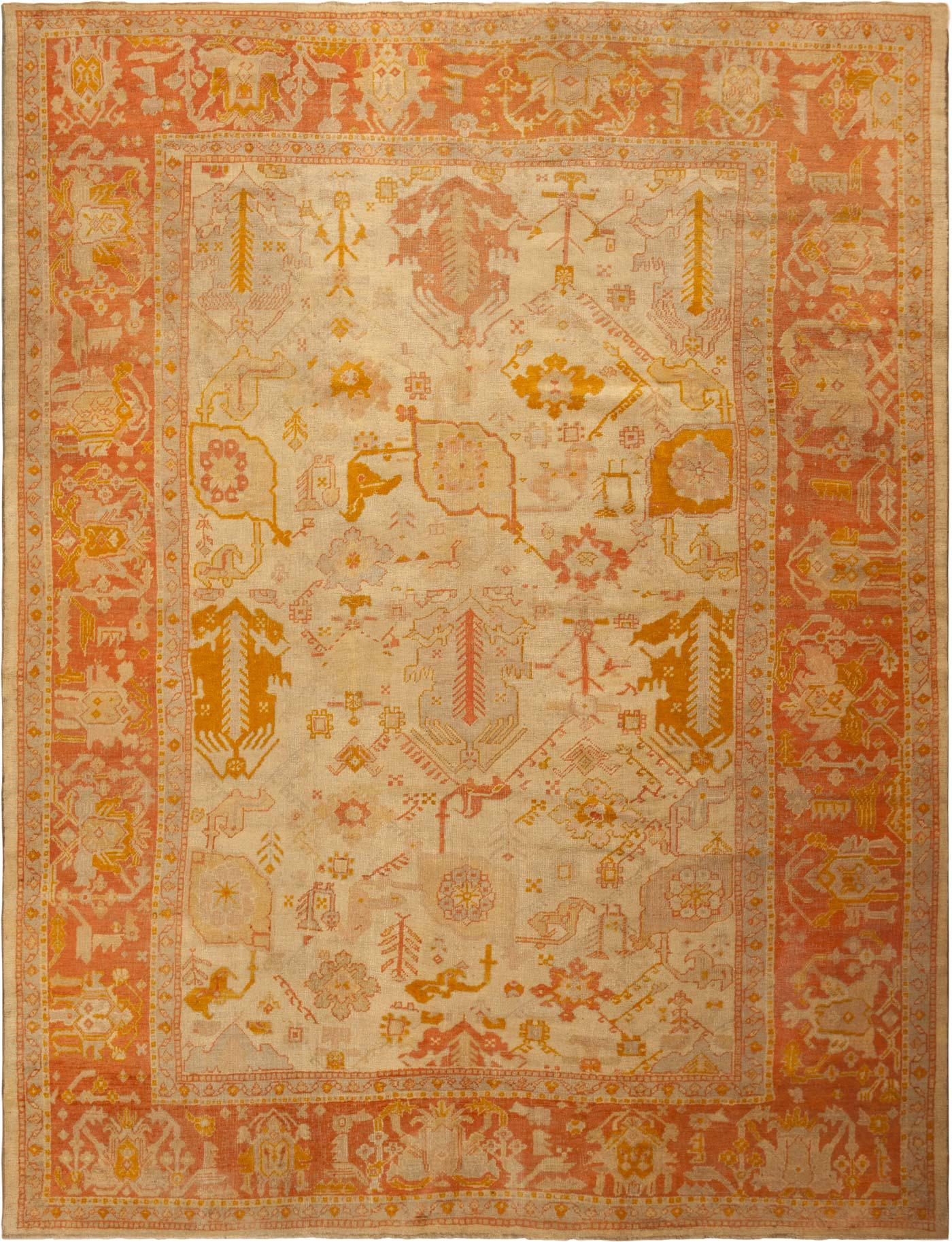 Captivating oushak rugs for floorings and rugs ideas with antique oushak rugs