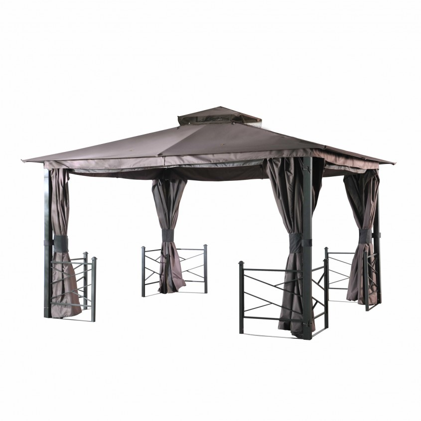 Captivating Sunjoy Gazebo For Garden Ideas With Sunjoy Hardtop Gazebo And Sunjoy Grill Gazebo