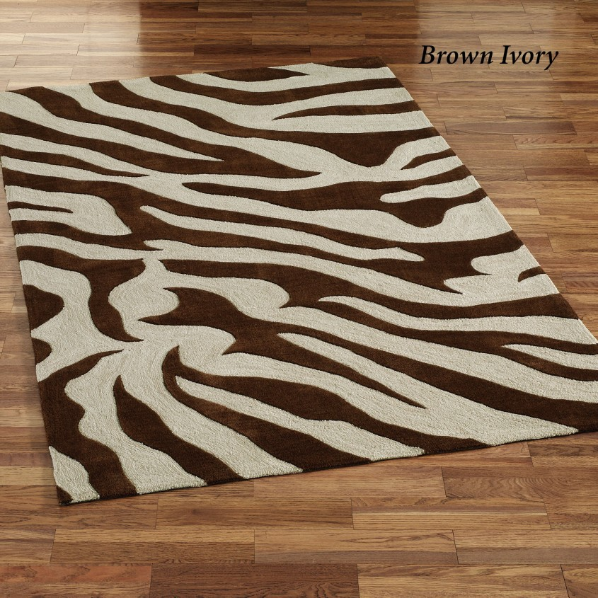 Captivating Zebra Rug For Floorings And Rugs Ideas With Zebra Skin Rug