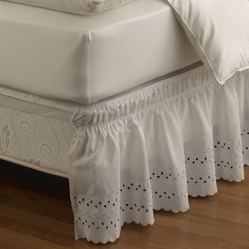Charming Bedskirts For Bedroom With Daybed Bedskirt