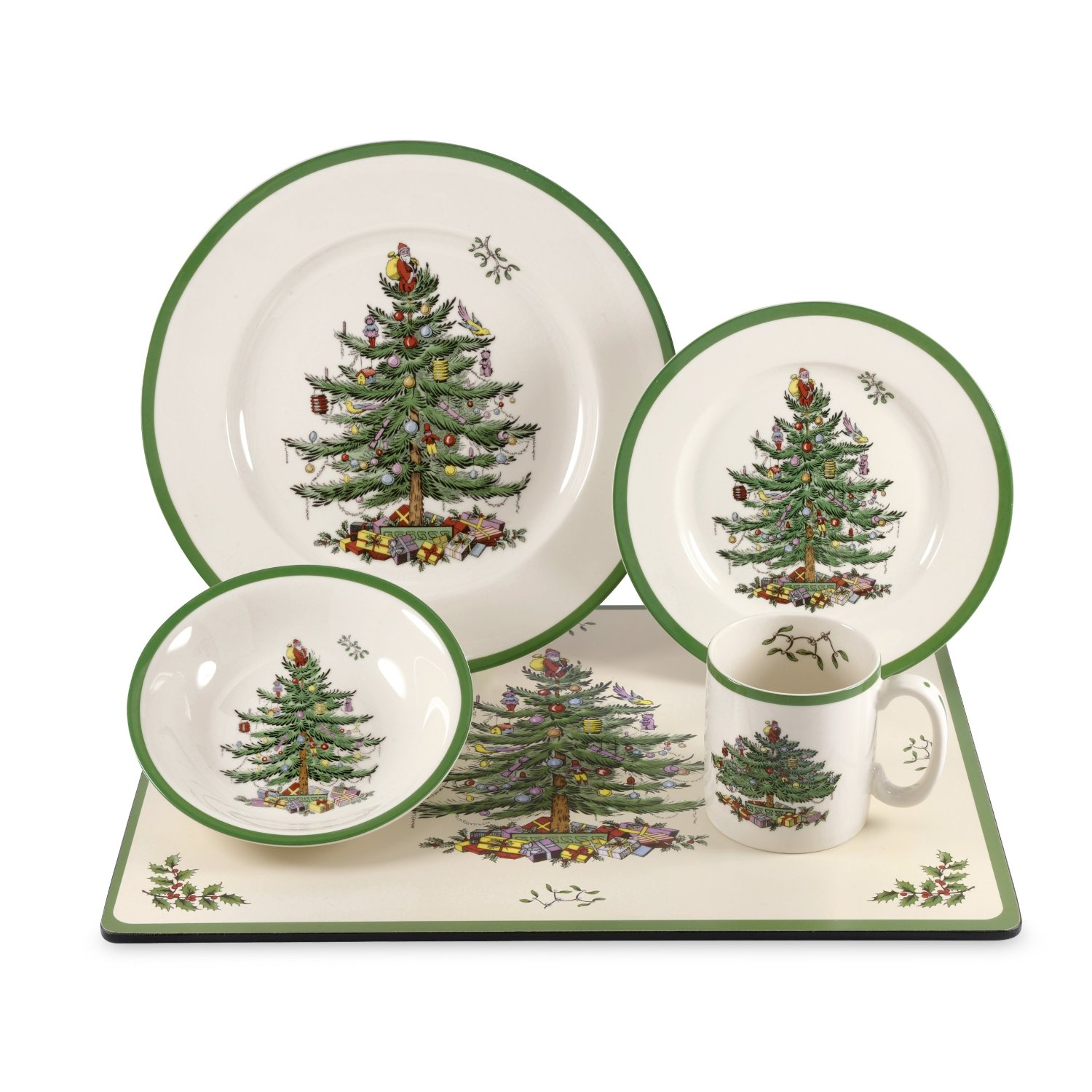 Charming christmas dinnerware for christmas decorating ideas with christmas dinnerware sets clearance