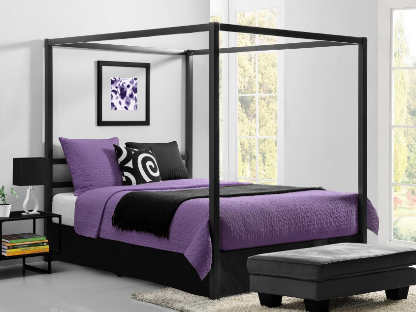 Charming King Canopy Bed For Classic Bedroom Ideas With King Size Canopy Bed