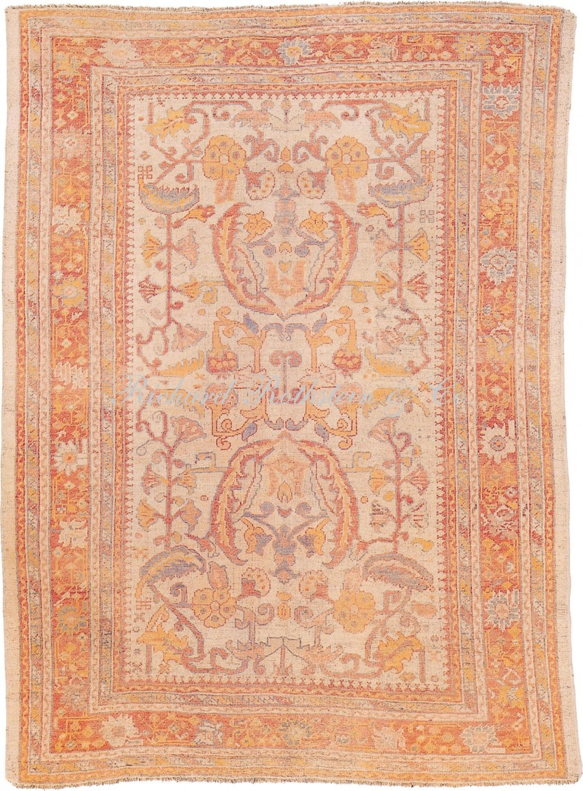 Charming Oushak Rugs For Floorings And Rugs Ideas With Antique Oushak Rugs