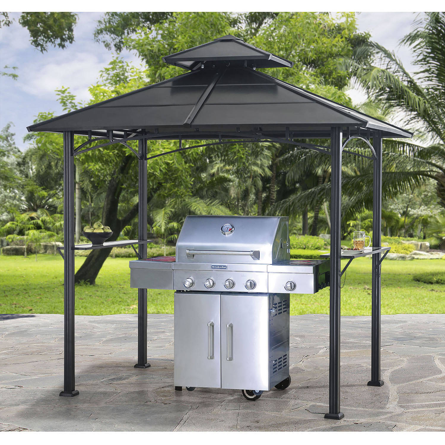 Charming sunjoy gazebo for garden ideas with sunjoy hardtop gazebo and sunjoy grill gazebo
