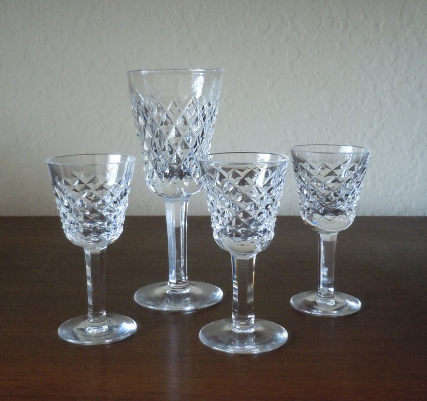 Charming Waterford Crystal Patterns For Dining Sets Ideas With Waterford Crystal Glass Patterns