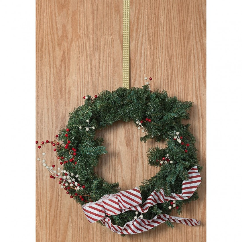 Charming Wreath Hanger For Home Decor Ideas With Magnetic Wreath Hanger