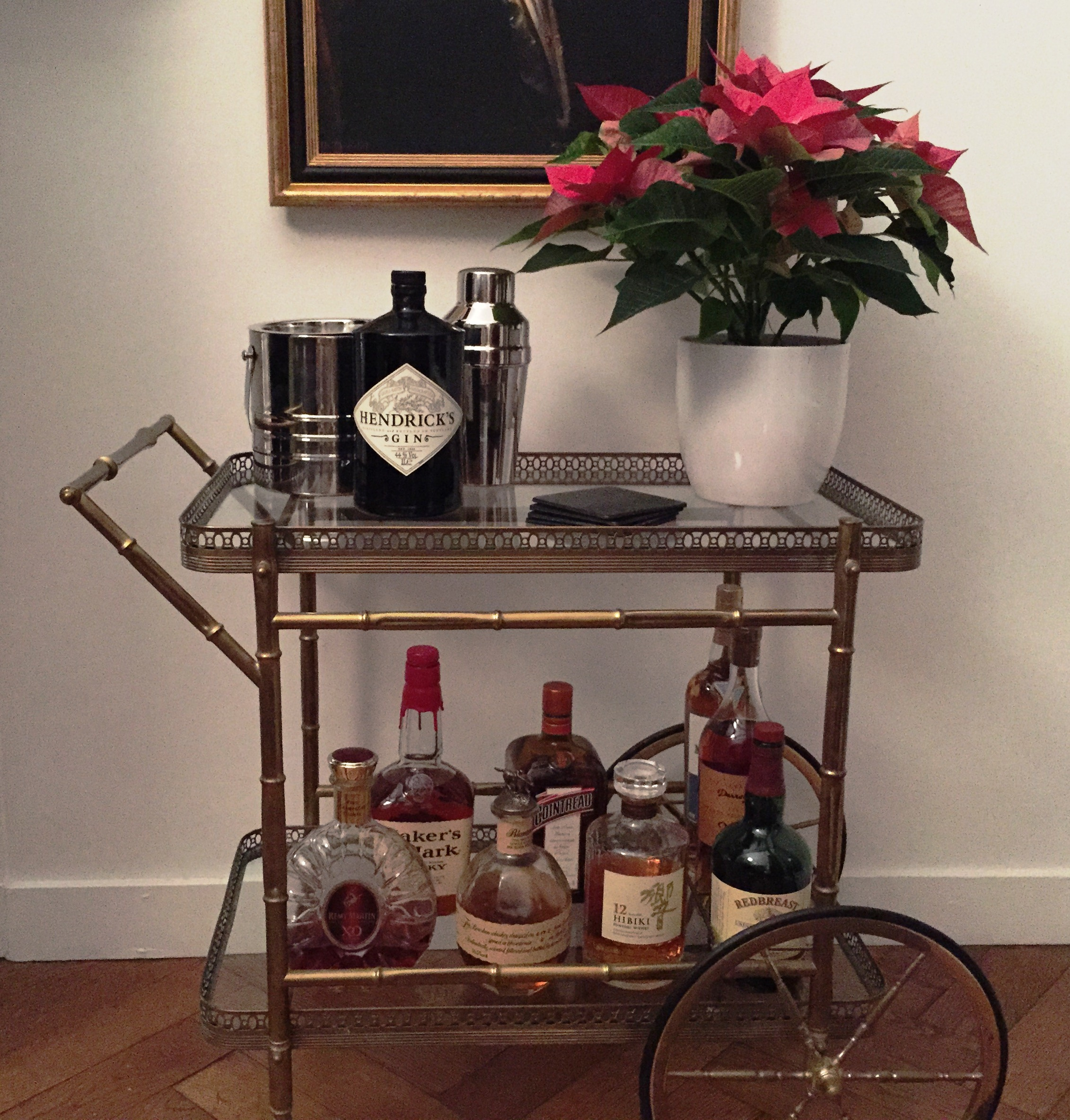 Cute Bar Carts for Bar Furniture Ideas: Chic Bar Carts For Bar Furniture Ideas With Gold Bar Cart And Diy Bar Cart
