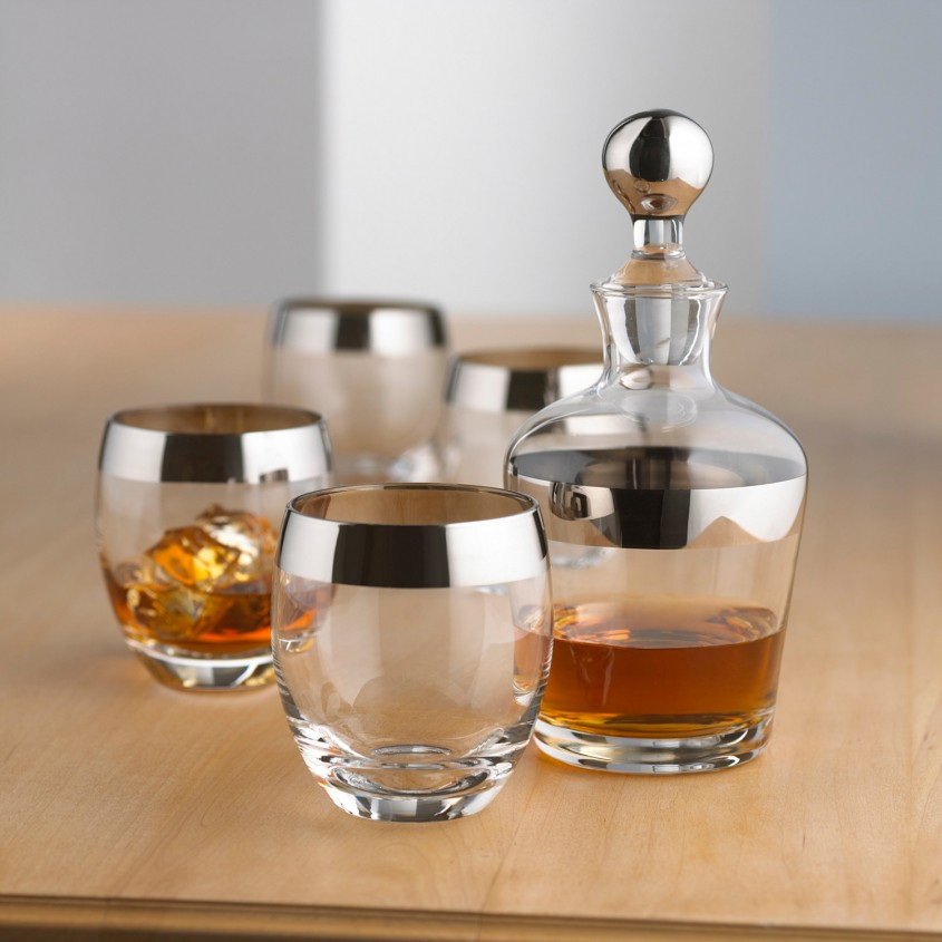 Chic Decanter Set For Dining Sets Ideas With Crystal Decanter Set