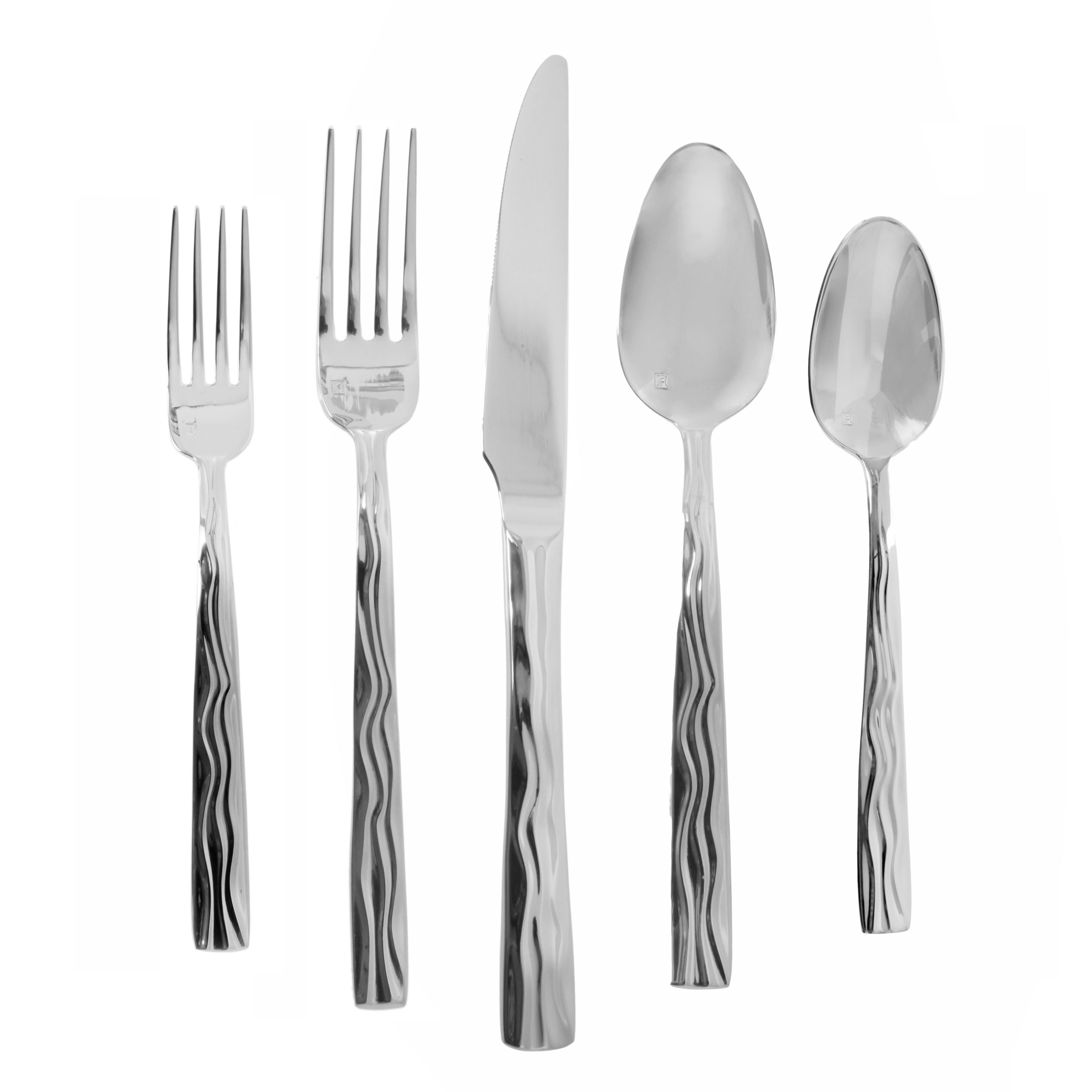 Chic fortessa flatware for kitchen and dining sets with fortessa silverware