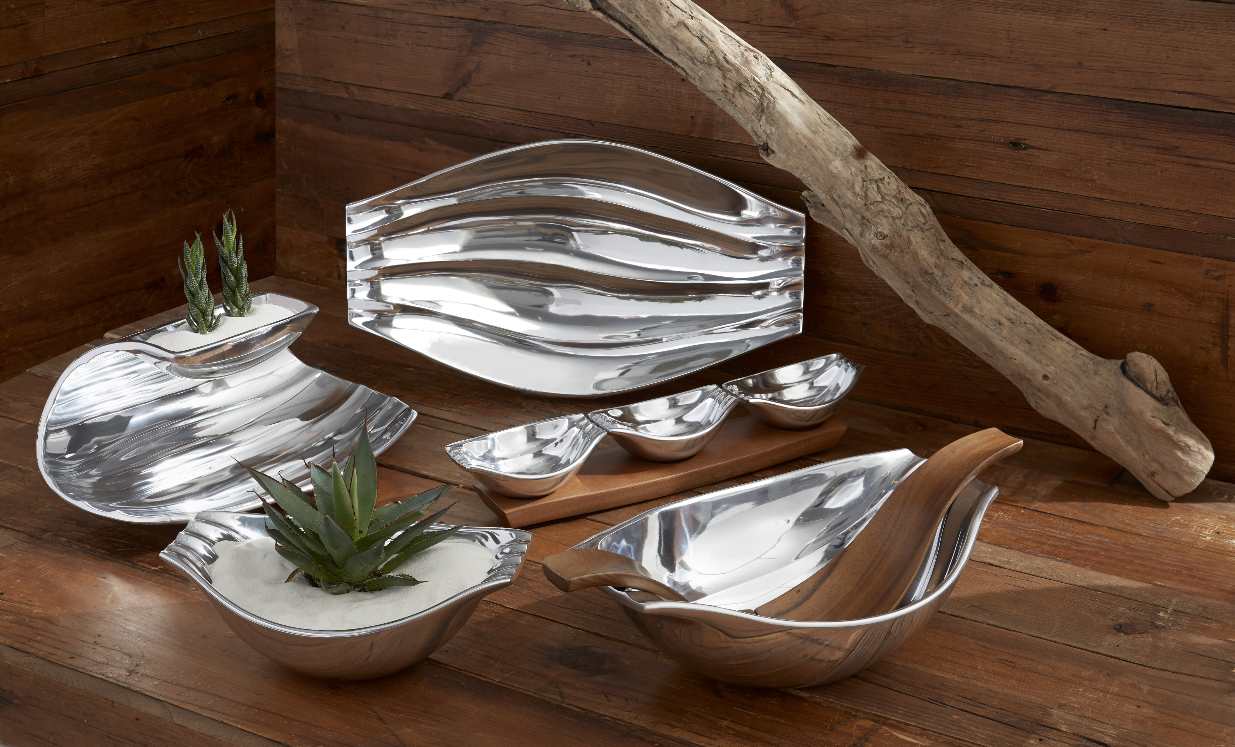 Chic nambe on tiekwood for interior decor ideas with nambe cookware