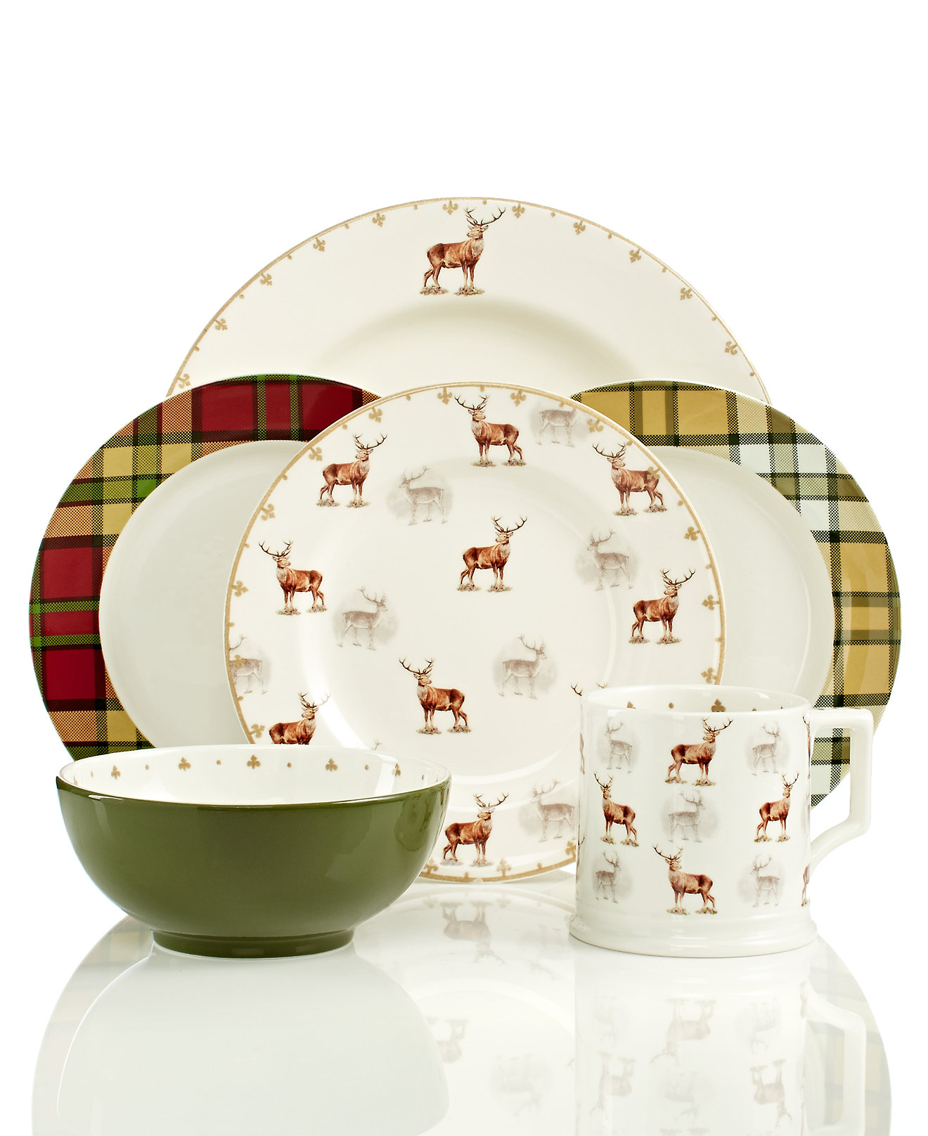 Classy christmas dinnerware for christmas decorating ideas with christmas dinnerware sets clearance