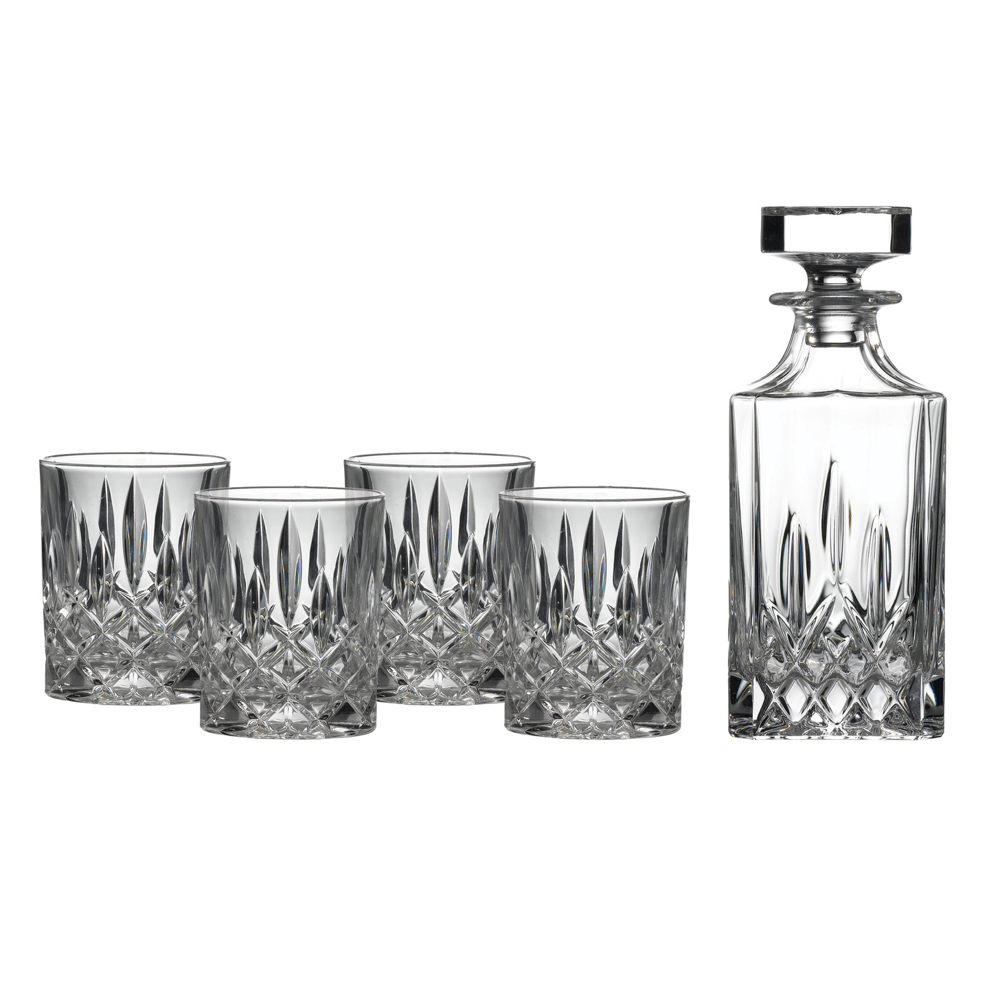 Classy decanter set for dining sets ideas with crystal decanter set