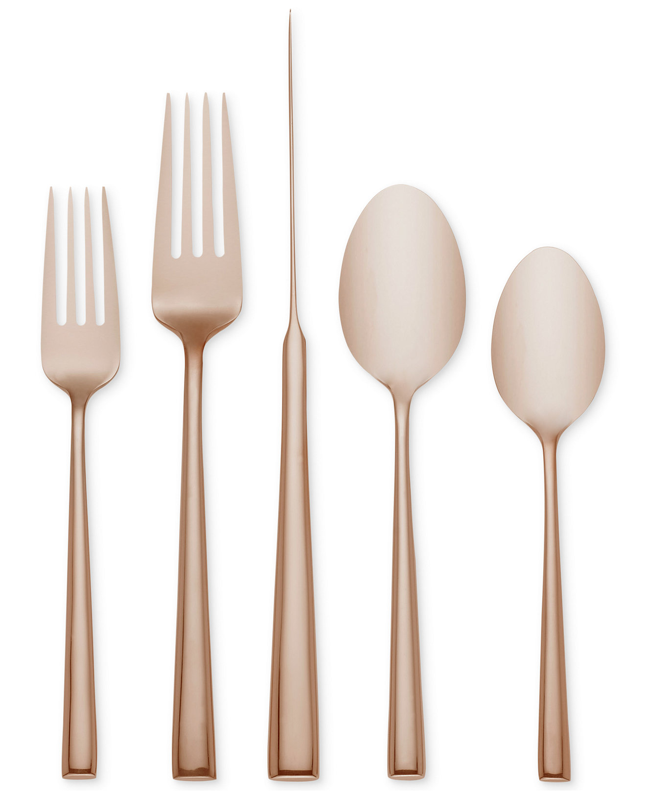 Classy gold flatware for kitchen and dining sets ideas with gold flatware set