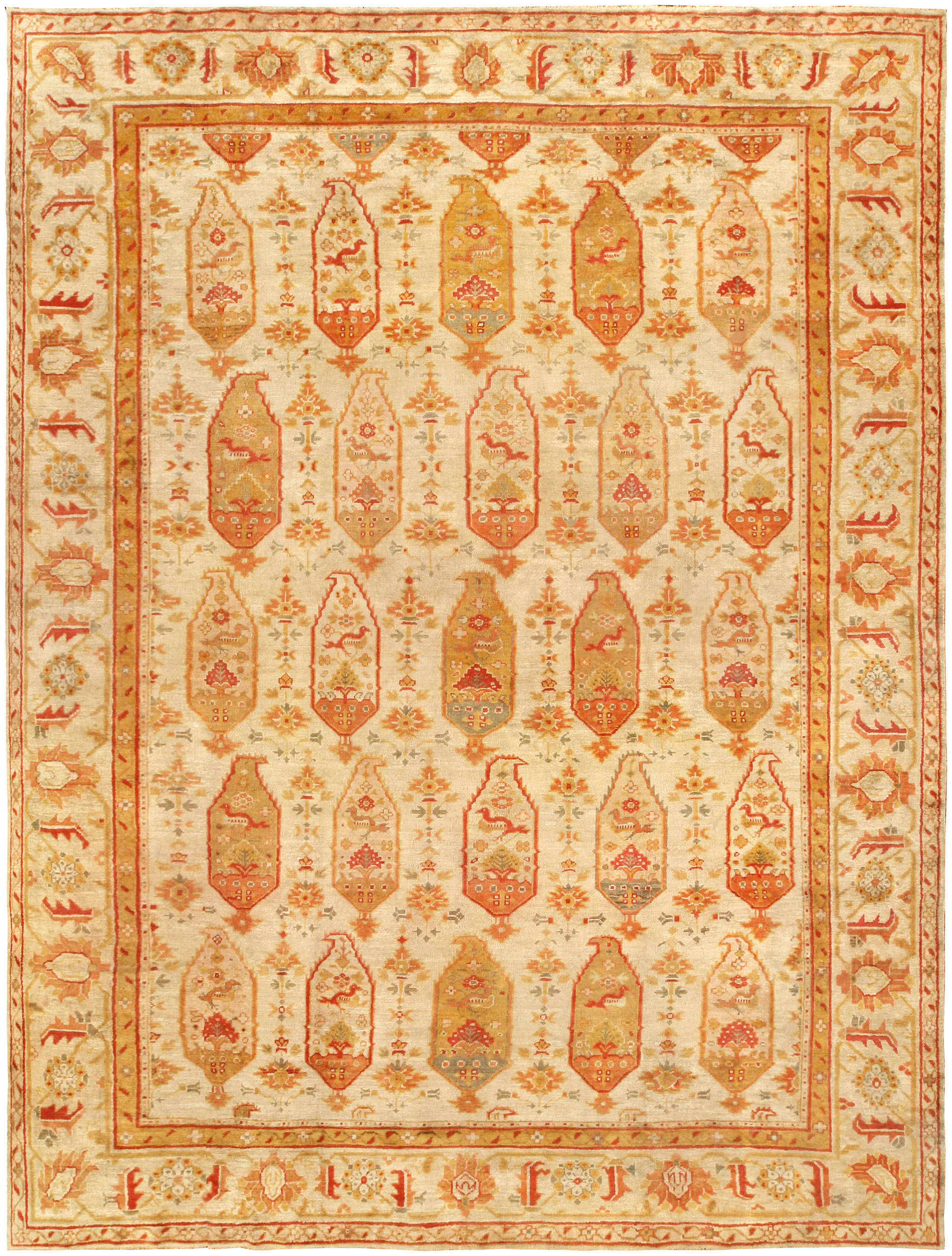 Classy oushak rugs for floorings and rugs ideas with antique oushak rugs
