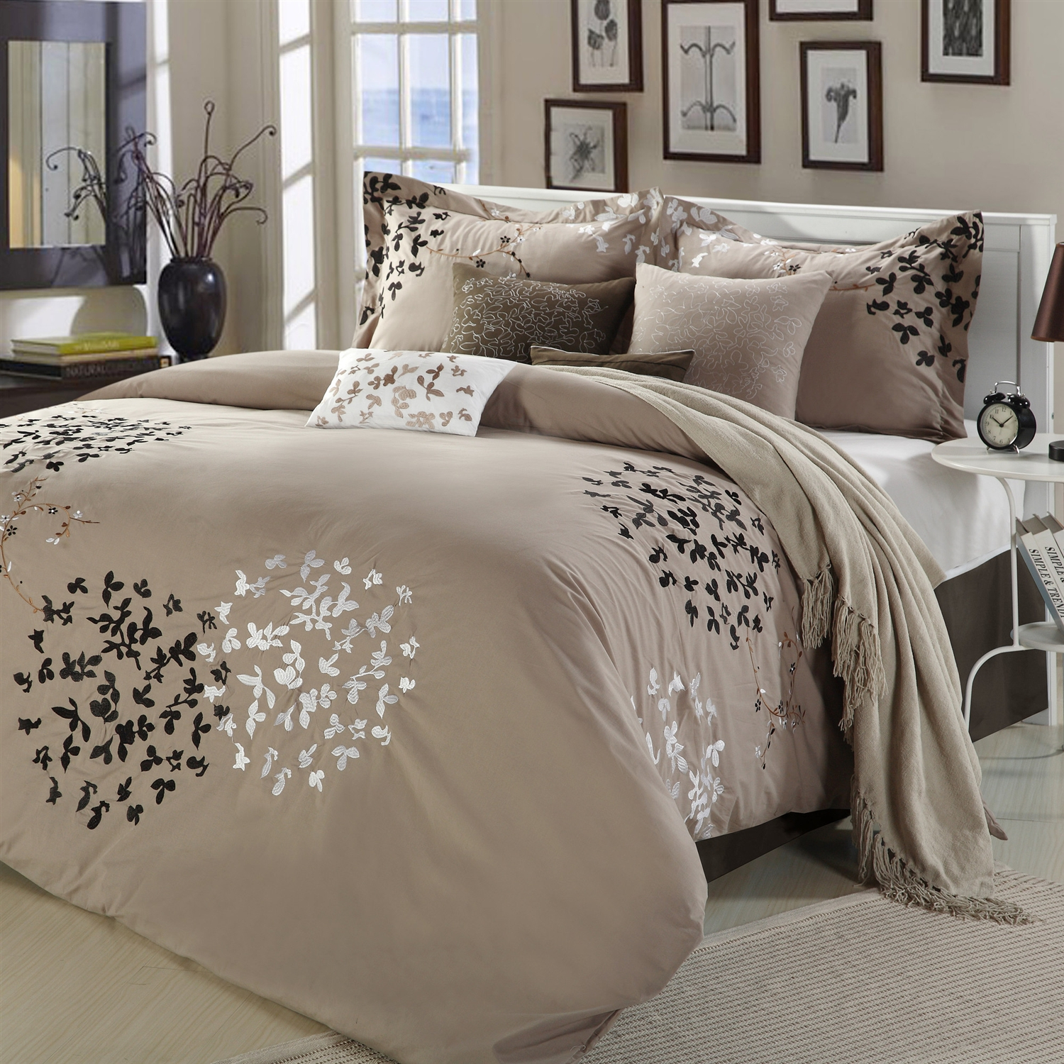 Classy queen size comforter sets for bedroom design with cheap queen size comforter sets