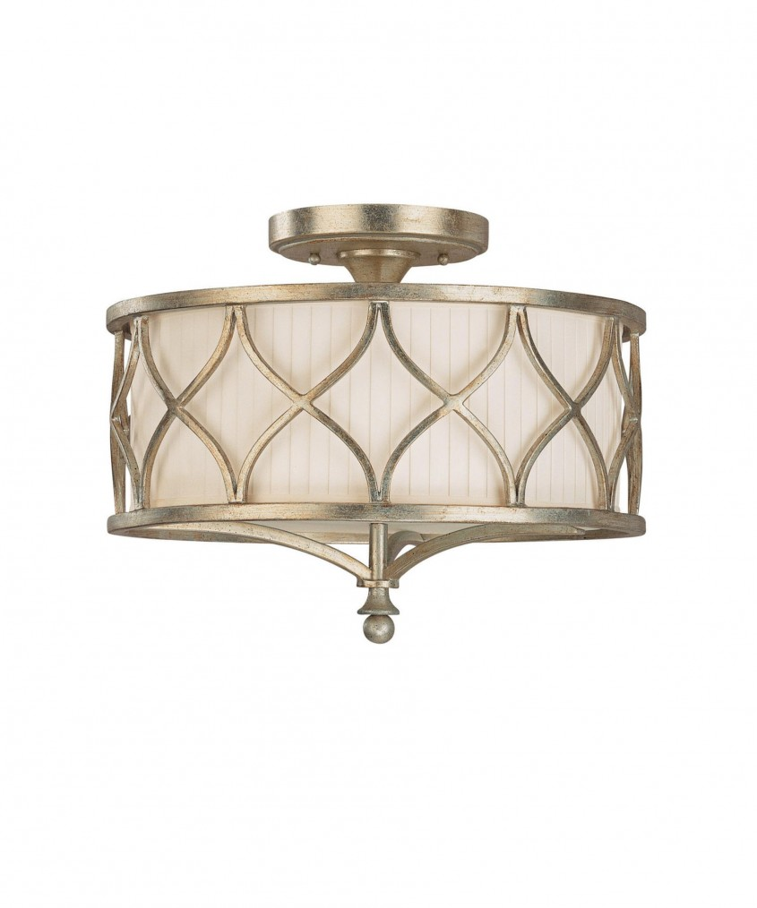 Classy Semi Flush Ceiling Light For Home Lighting Design With Brushed Nickel Semi Flush Ceiling Light