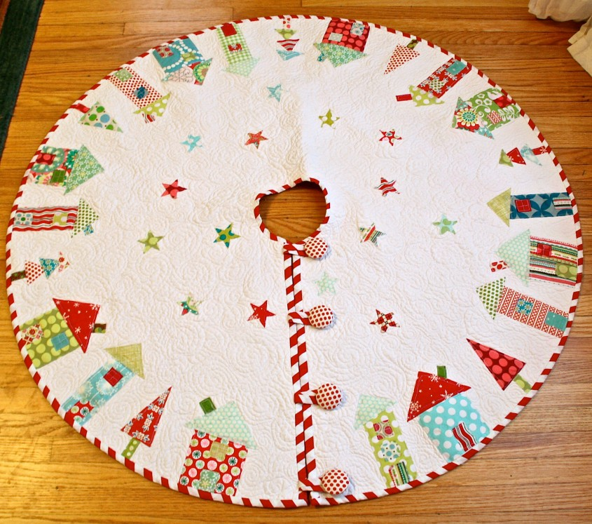 Comfy Christmas Tree Skirts For Christmas Ideas With Christmas Tree Skirt Pattern