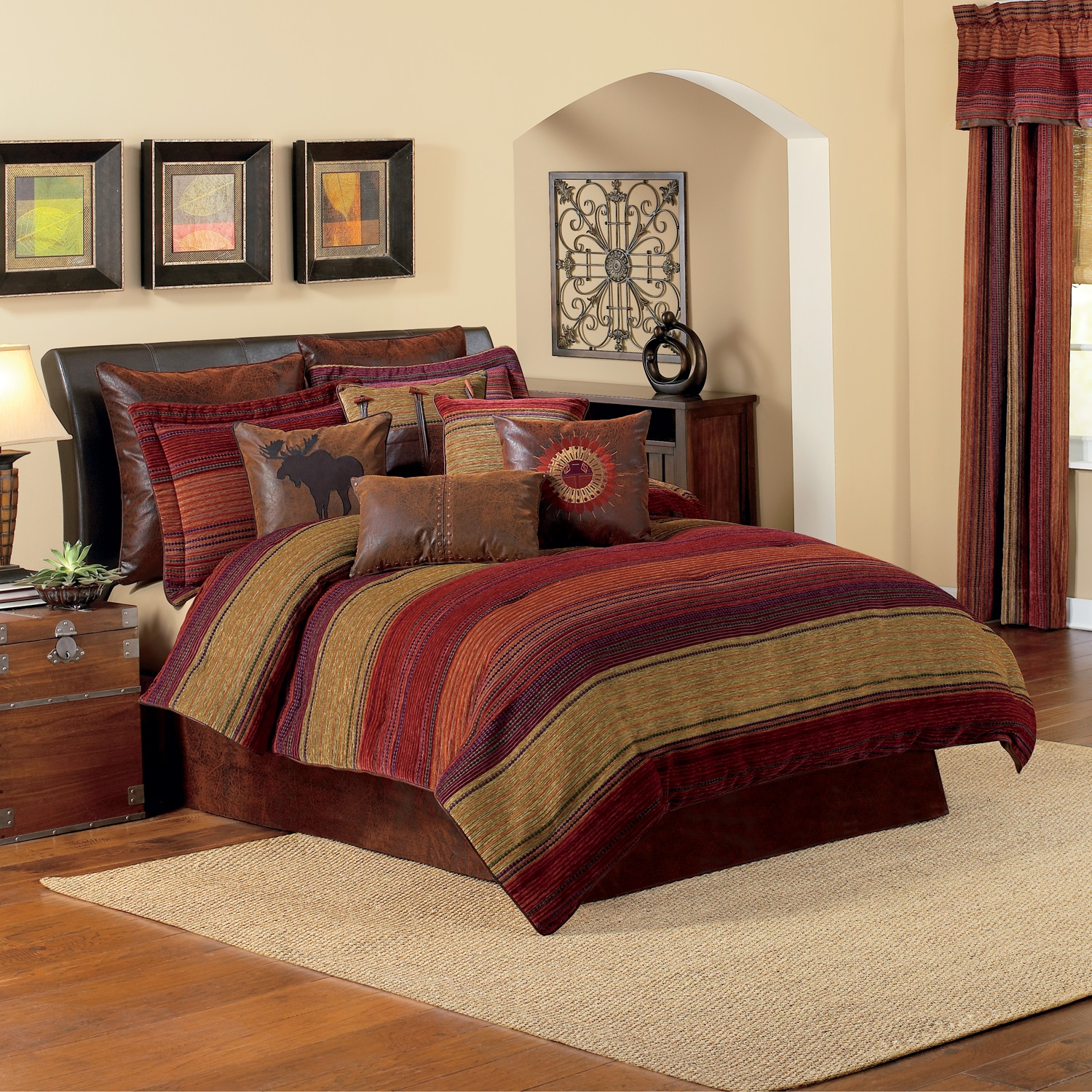 Beautiful Comforters Sets for Bedroom Design: Comfy Comforters Sets For Bedroom Design With Queen Comforter Sets
