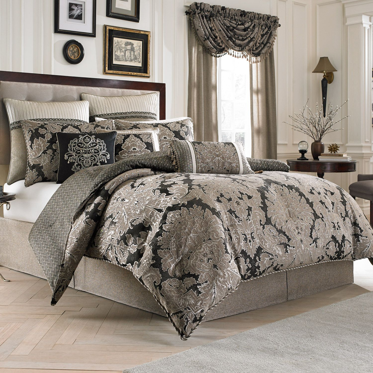 Comfy queen size comforter sets for bedroom design with cheap queen size comforter sets