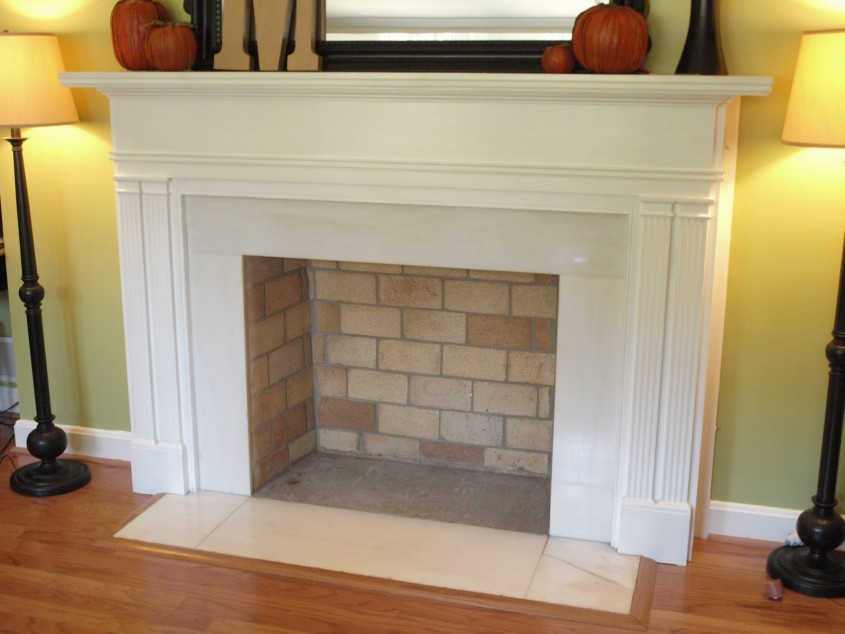 Cool Fireplace Mantle For Interior Living Room With Electric Fireplace With Mantle