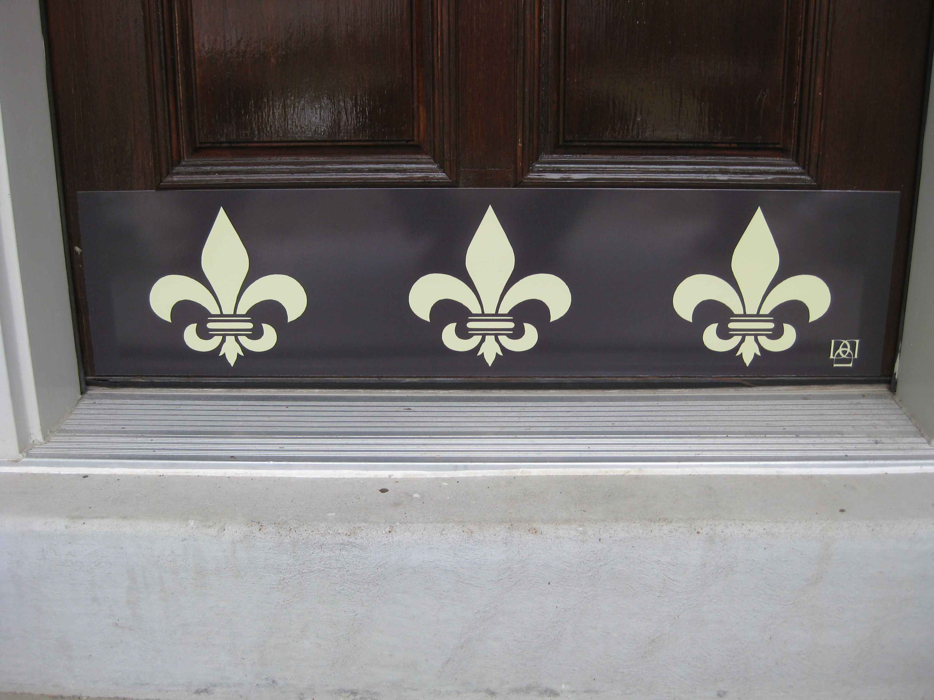 fleur de photos lis latest showing attachment and decor inside view metal home art wall of