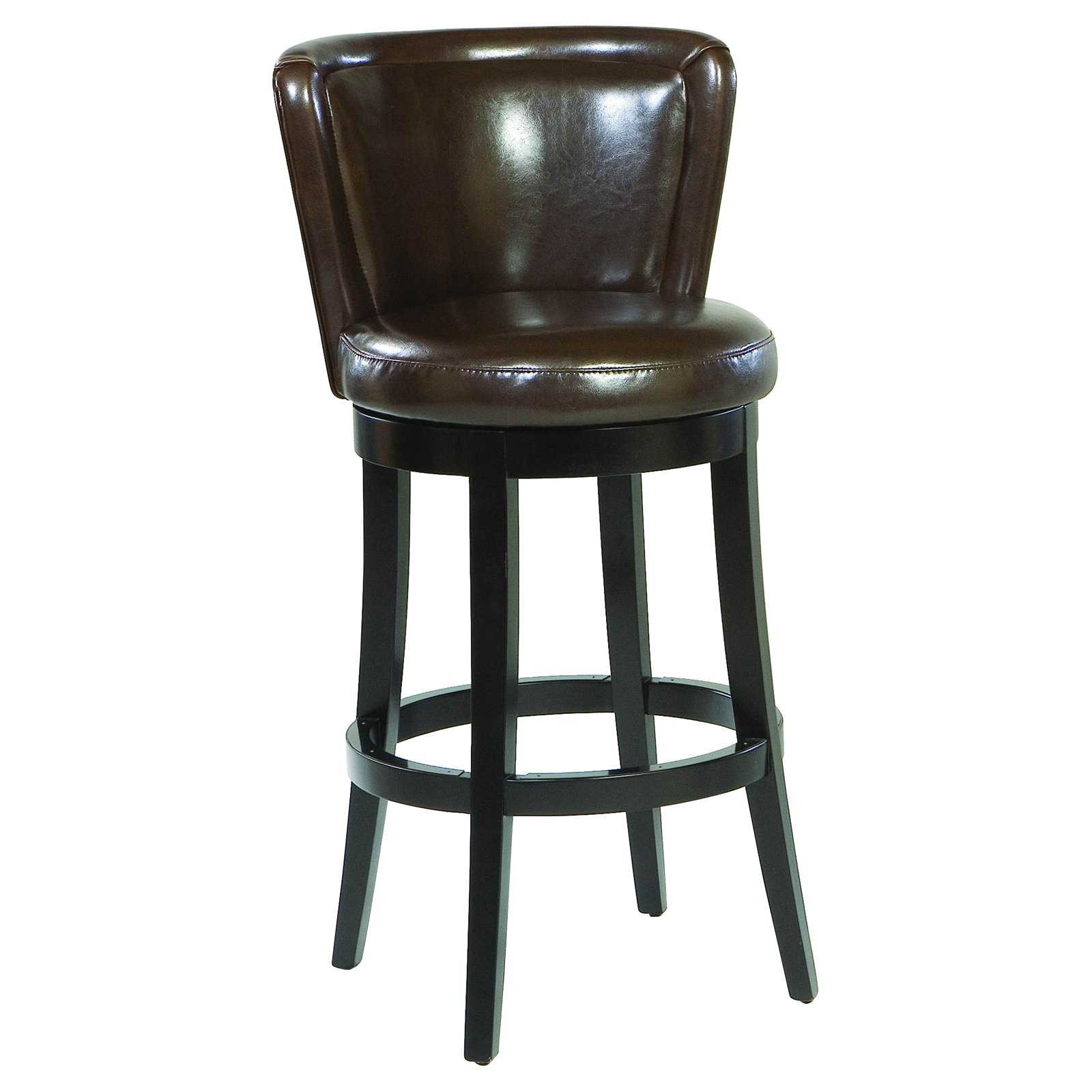 Cool leather bar stools for home furniture with leather swivel bar stools