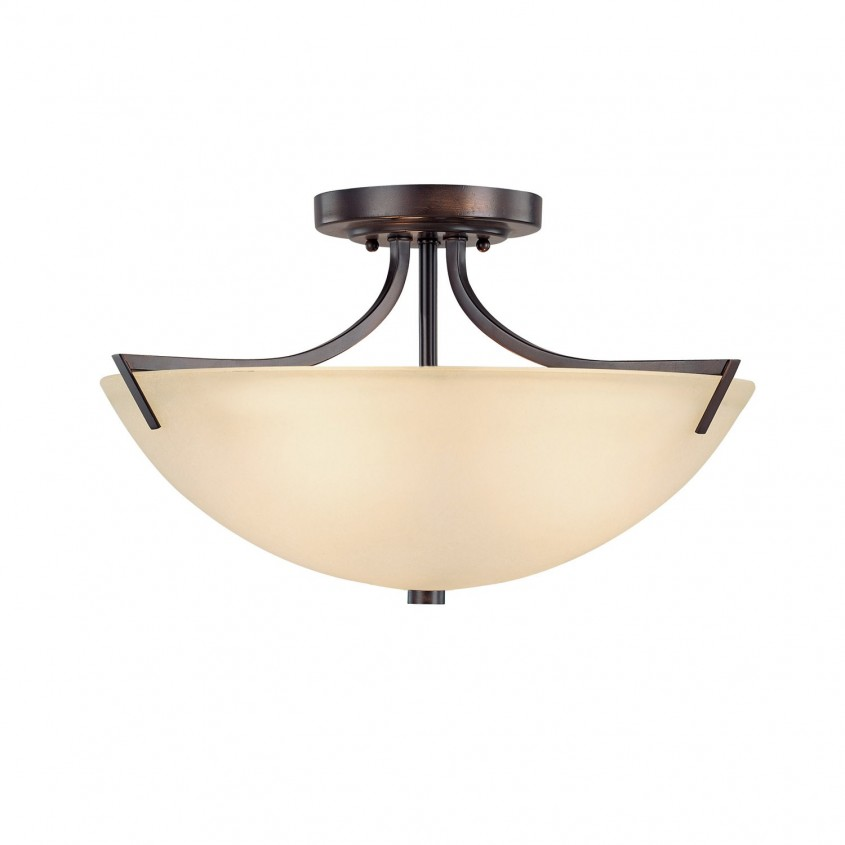 Cool Semi Flush Ceiling Light For Home Lighting Design With Brushed Nickel Semi Flush Ceiling Light