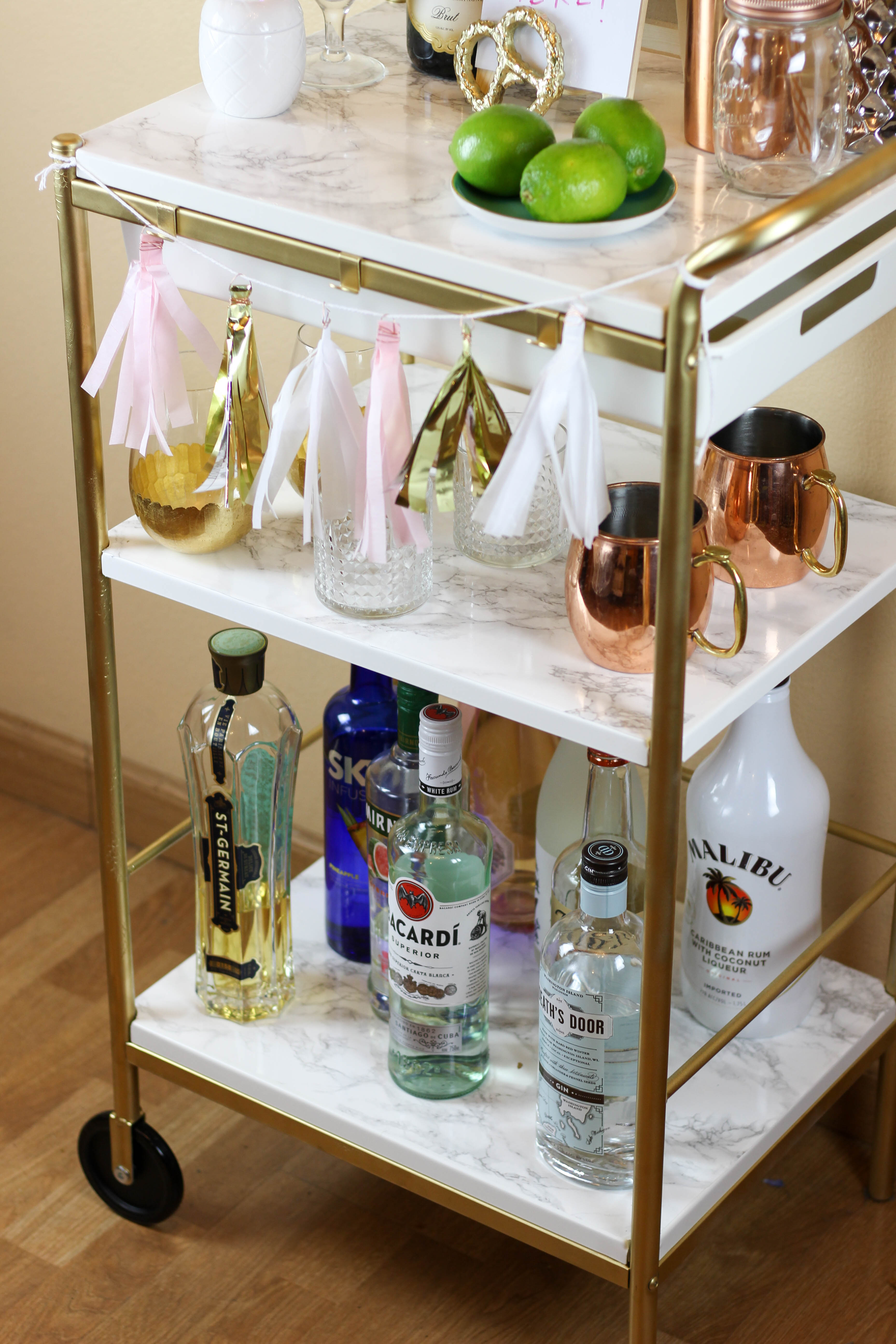 Cozy bar carts for bar furniture ideas with gold bar cart and diy bar cart