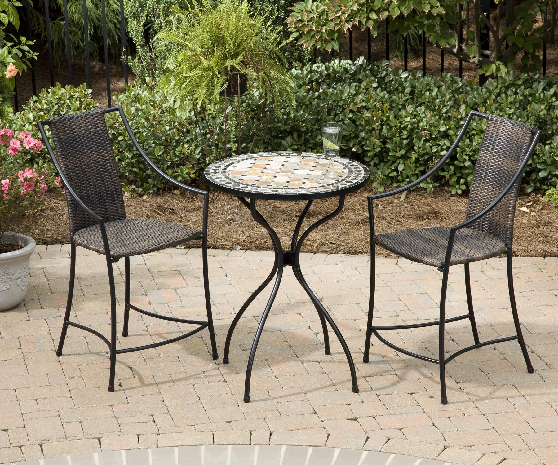 Cozy bistro table and chairs for home furniture ideas with outdoor bistro table and chairs