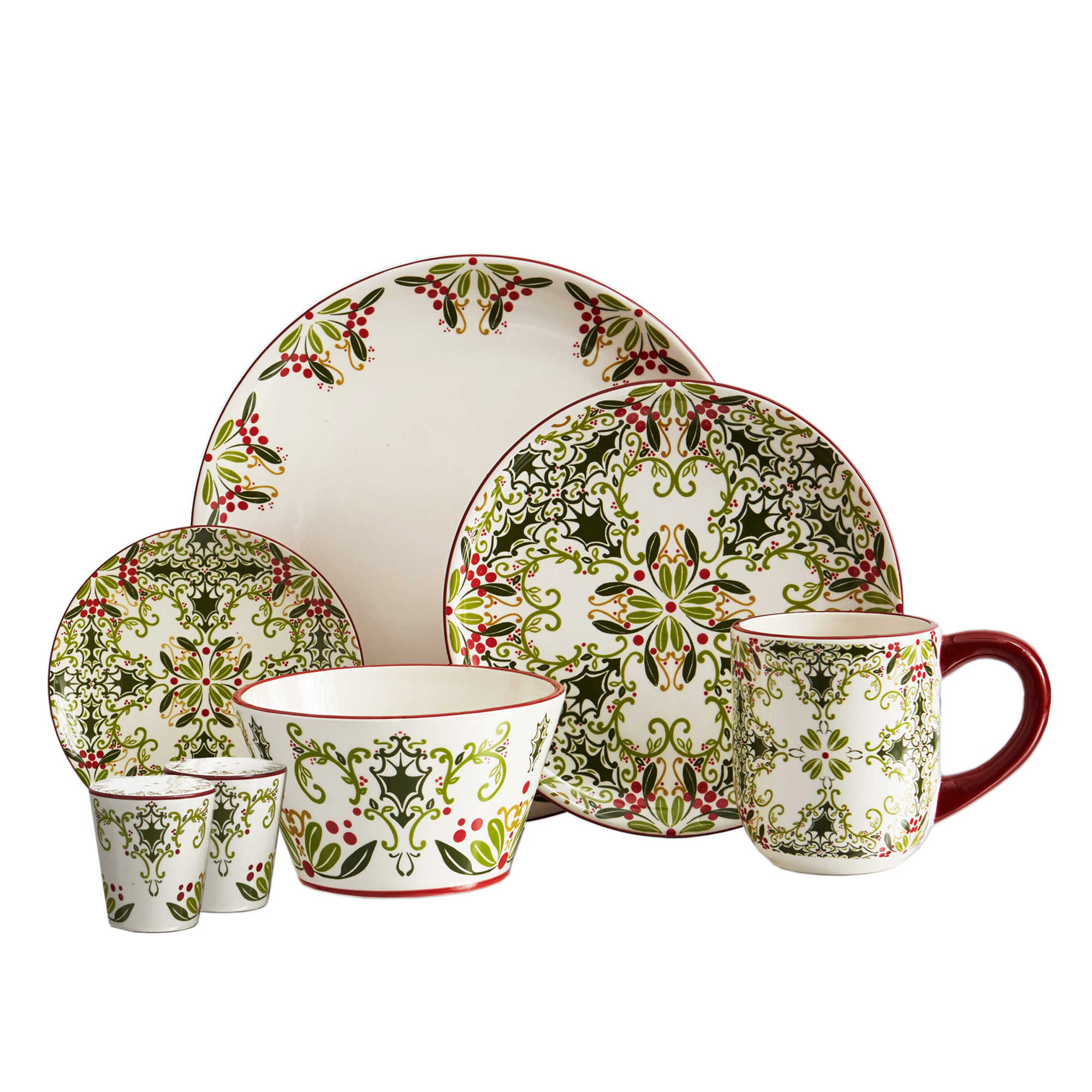 Cozy christmas dinnerware for christmas decorating ideas with christmas dinnerware sets clearance