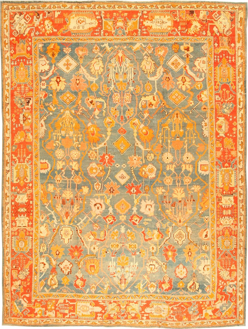 Cozy Oushak Rugs For Floorings And Rugs Ideas With Antique Oushak Rugs