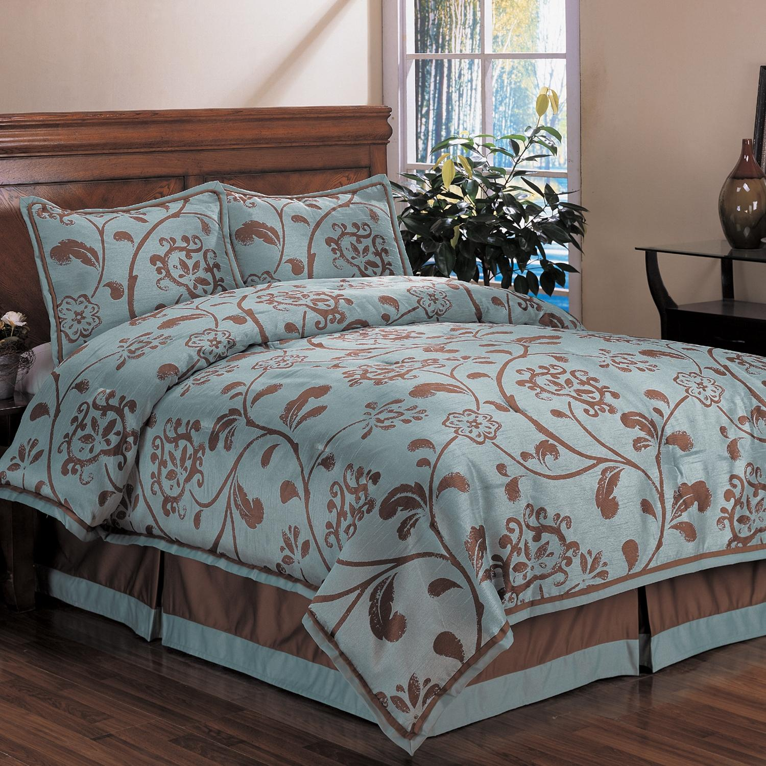 Cozy queen size comforter sets for bedroom design with cheap queen size comforter sets