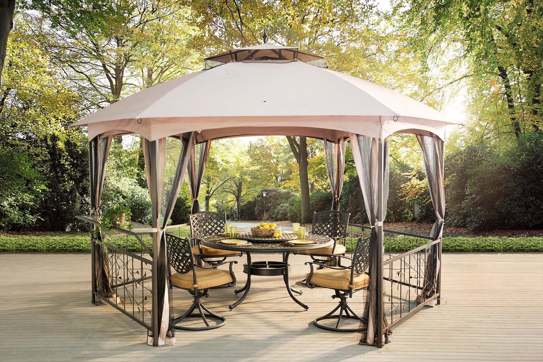 Cozy sunjoy gazebo for garden ideas with sunjoy hardtop gazebo and sunjoy grill gazebo