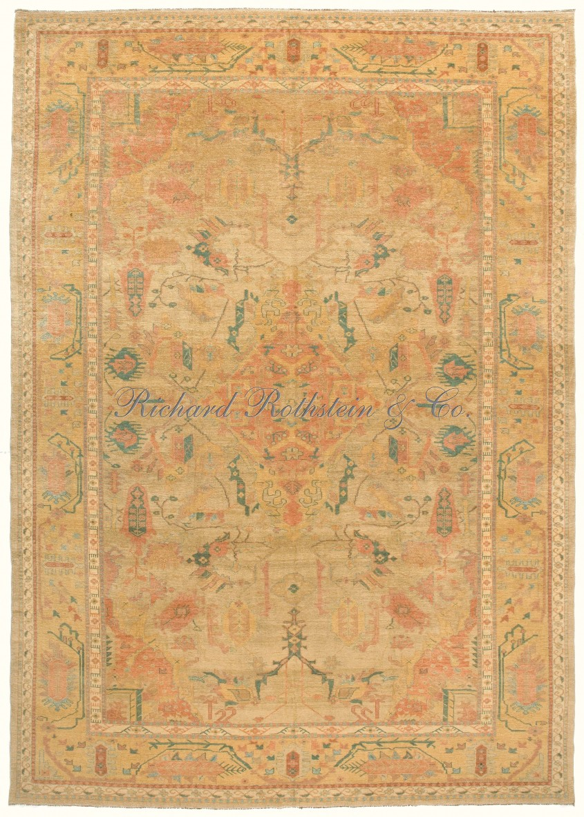 Creativ Oushak Rugs For Floorings And Rugs Ideas With Antique Oushak Rugs