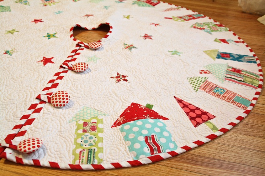 Creative Christmas Tree Skirts For Christmas Ideas With Christmas Tree Skirt Pattern