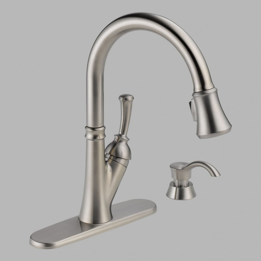Creative Delta Cassidy Kitchen Faucet For Kitchen Faucet Ideas With Delta Single Handle Kitchen Faucet With Spray