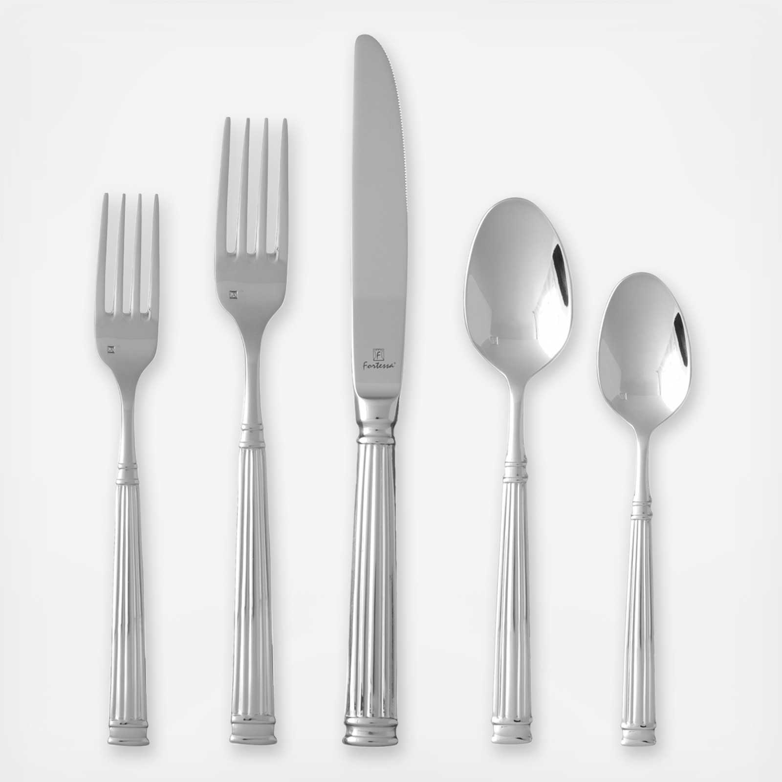 Creative fortessa flatware for kitchen and dining sets with fortessa silverware