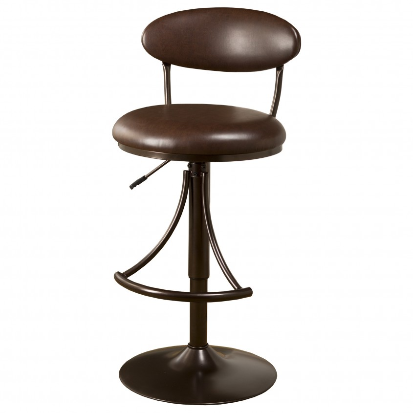 Creative Leather Bar Stools For Home Furniture With Leather Swivel Bar Stools