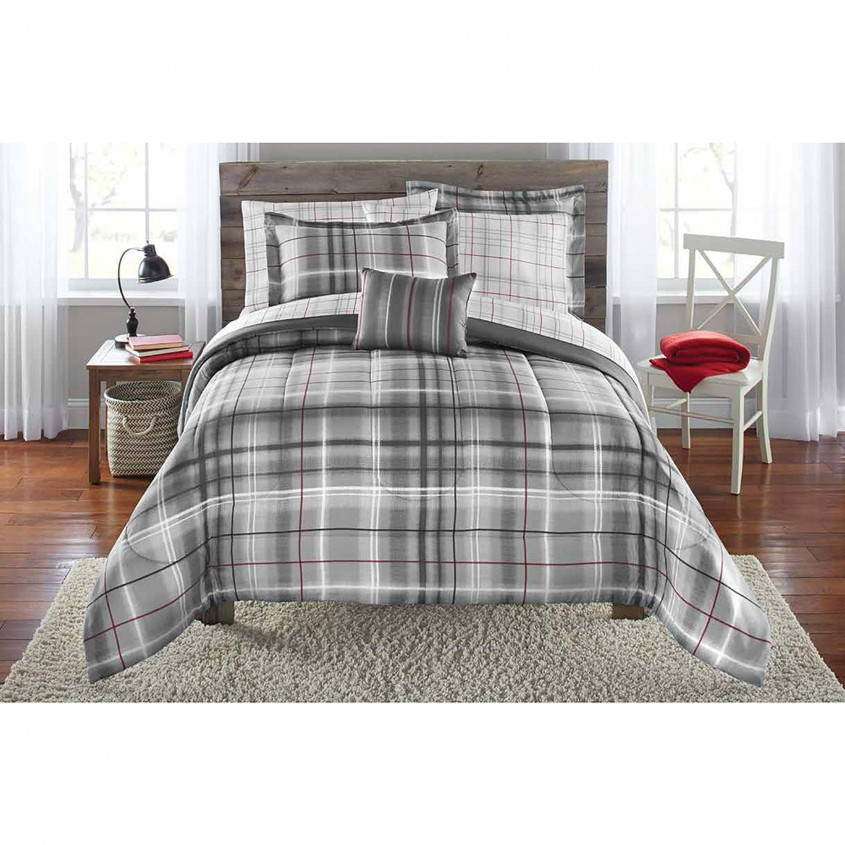 Creative Plaid Bedding For Simple Bedroom Design With Ralph Lauren Plaid Bedding
