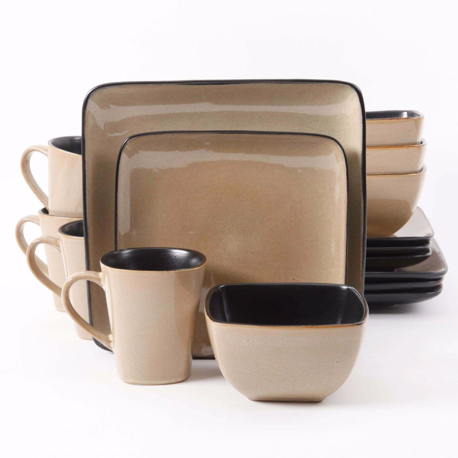 Creative stoneware dishes for dinnerware collection with stoneware dishes made in usa