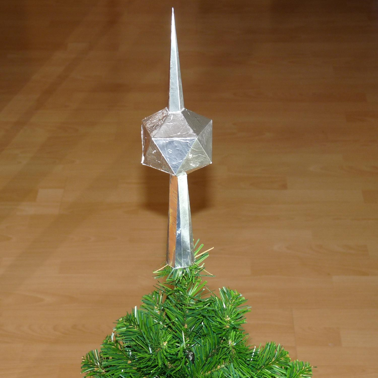 Cute christmas tree topper for christmas decorating ideas with unique christmas tree toppers