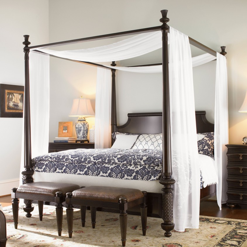 Cute King Canopy Bed For Classic Bedroom Ideas With King Size Canopy Bed