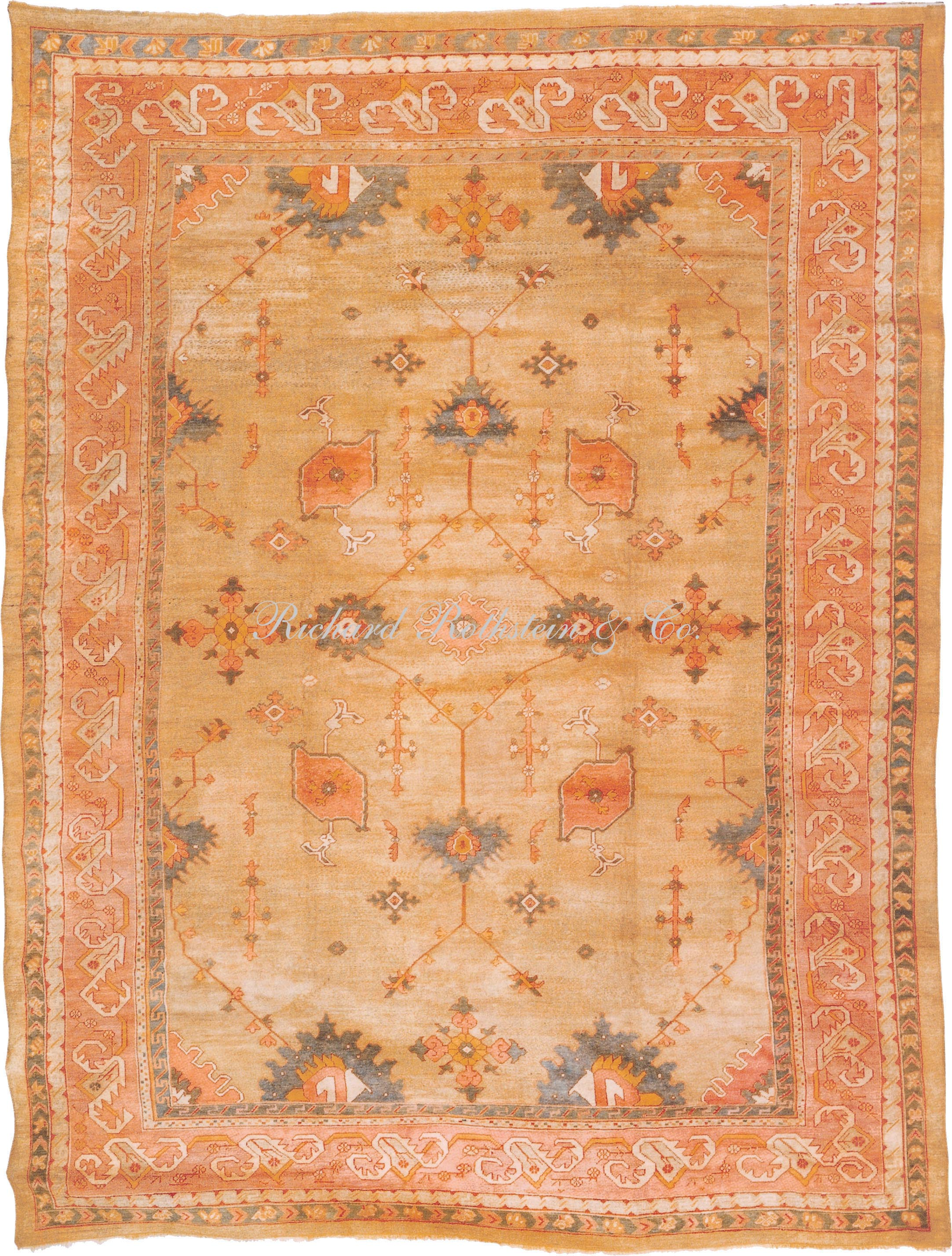 Cute oushak rugs for floorings and rugs ideas with antique oushak rugs