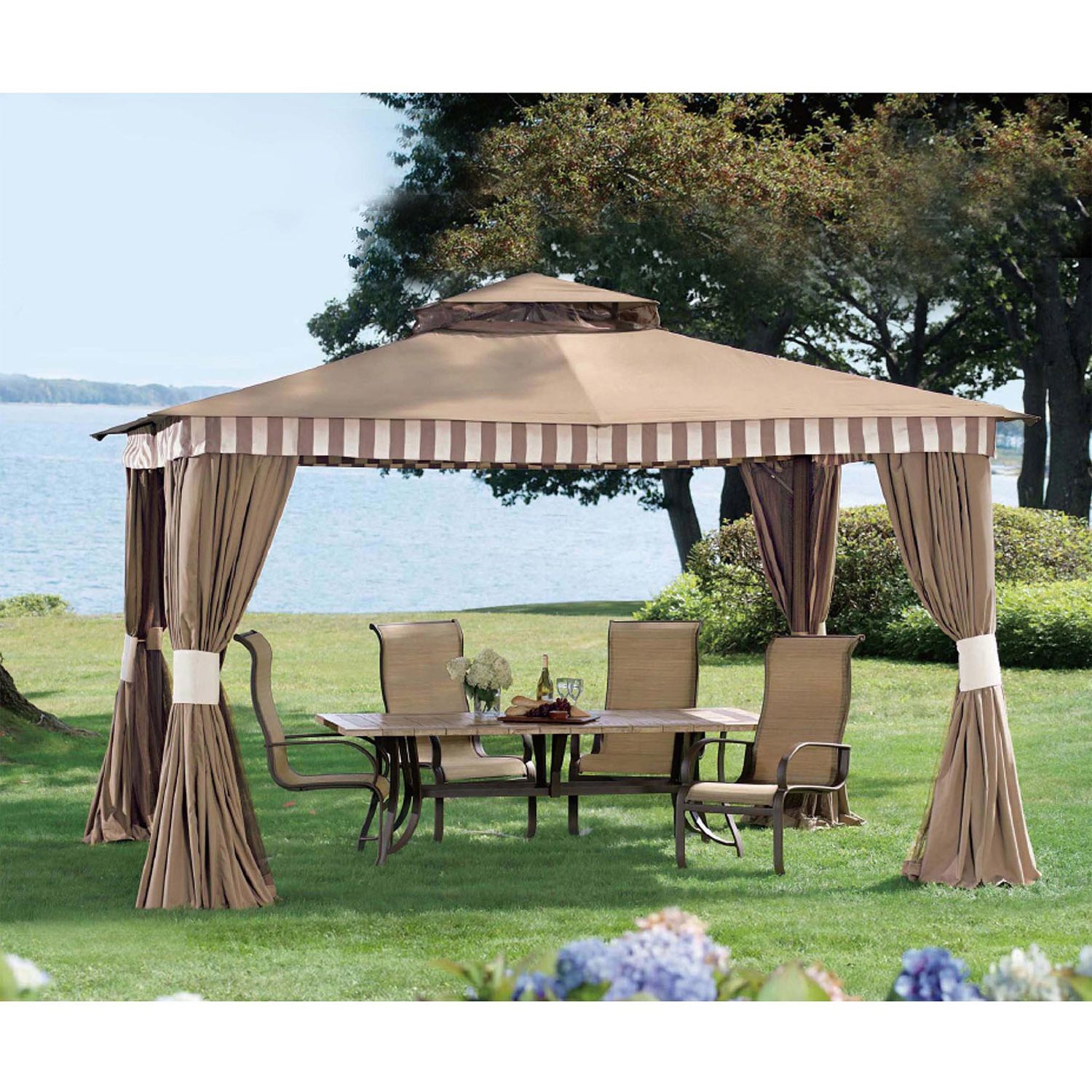 Cute sunjoy gazebo for garden ideas with sunjoy hardtop gazebo and sunjoy grill gazebo