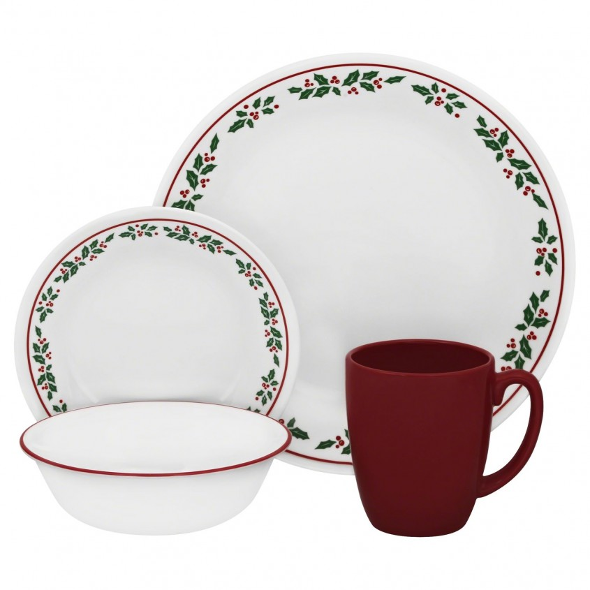 Dazzling Christmas Dinnerware For Christmas Decorating Ideas With Christmas Dinnerware Sets Clearance